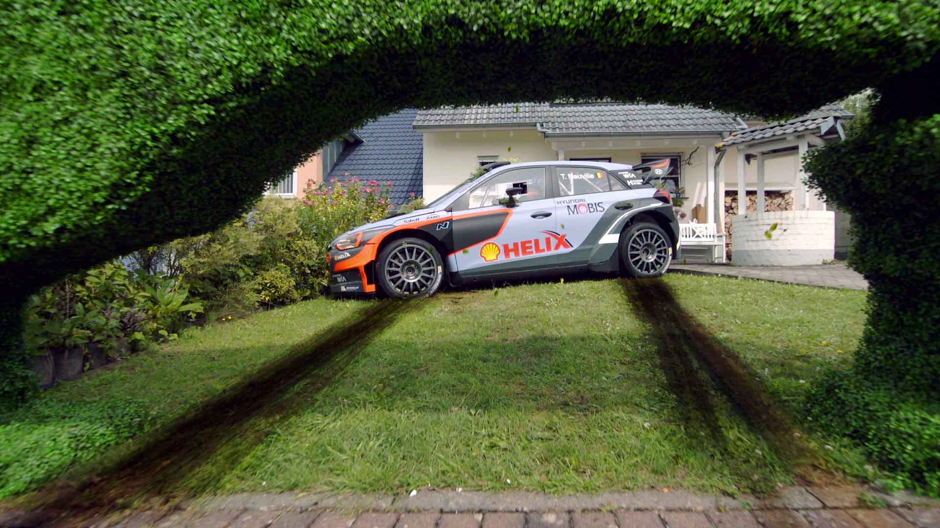 Hyundai WRC Cutting Hedge